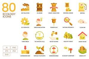 80 Ecology Icons | Caramel