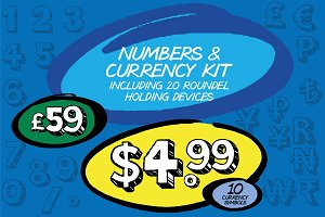 Pricing, Numbers & Currency Symbols