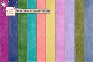 Color Crush 47 (shabby solids)