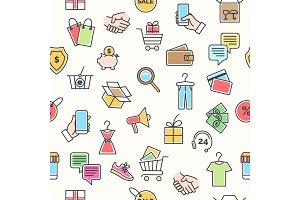 Online retail pattern
