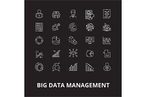 Big data management editable line
