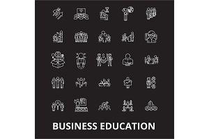 Business education editable line