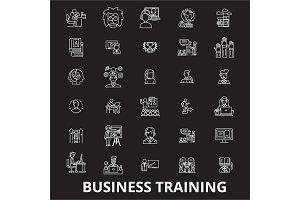 Business training editable line