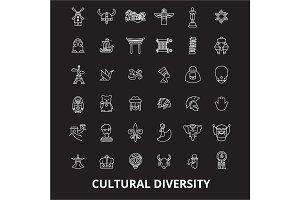 Cultural diversity editable line