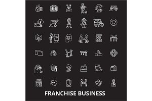 Franchise business editable line