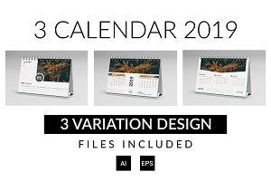 A3 Calendar 2019