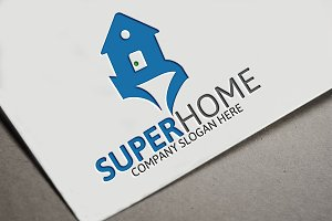 Super Home Logo