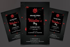 Valentine's Day Grand Open Flyer