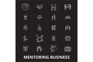 Mentoring business editable line
