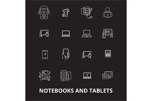 Notebooks and tablets editable line
