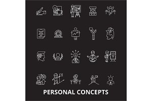 Personal concepts editable line