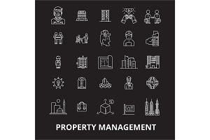 Property management editable line