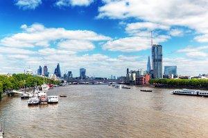 London- view from Blackfriars bridge