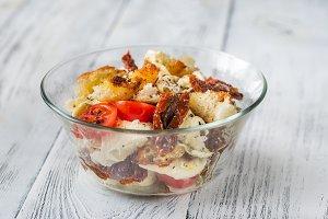 Caprese Panzanella Italian Salad