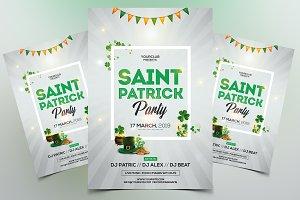 St Patricks PSD Flyer Template