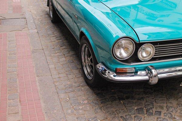 Arts & Entertainment Stock Photos - Vintage Car Detail
