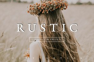RUSTIC Subtle Film Lightroom Presets