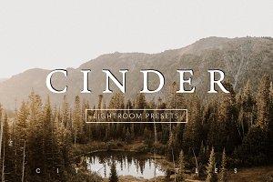 CINDER Moody Fall Lightroom Presets