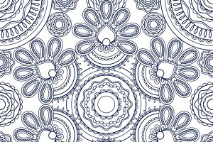 Vintage hand drawn background