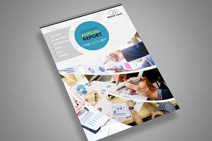 ANNUAL REPORT COVER DESIGN A4 SIZE