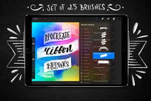 Procreate Ribbon brushes