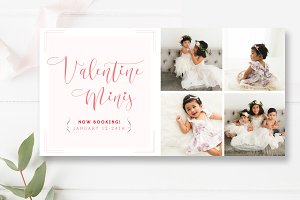 Valentine's Minis Facebook Timeline