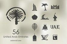 56 United Arab Emirates icons
