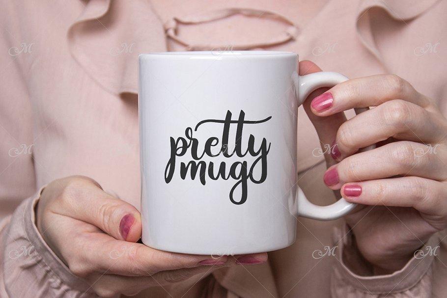 Pretty Mug Mockup. PSD+JPEG