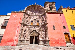 San Miguel de Allende churches