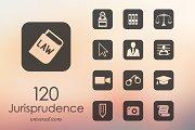 20 jurisprudence icons