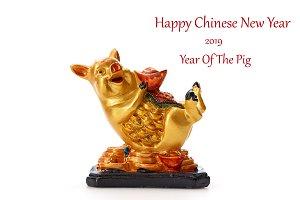 Decorate Pig 2019 Lunar New Year