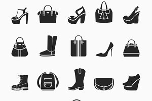 Women shoes and bags