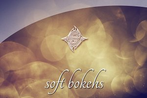 15 Textures - Soft Bokehs