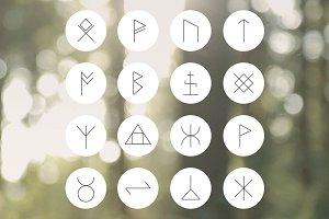 Rune icon set