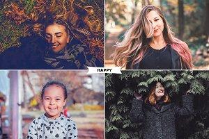 Happy - Photoshop Actions