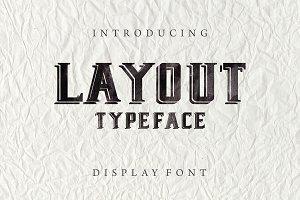 Layout - New Display Font
