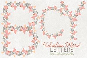 Valentine Flora 01 - Letters 01