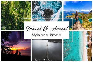 Travel & Aerial lightroom presets