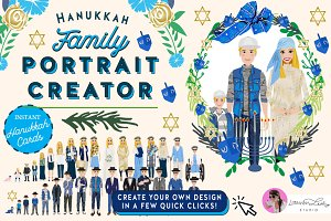Jewish Family Portrait Creator