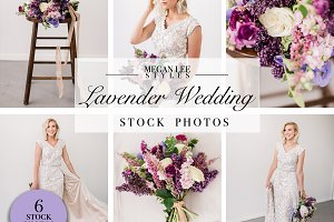 Lavender Wedding Photo Bundle
