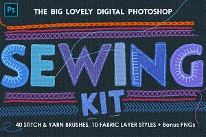 Sewing & Embroidery PS Kit