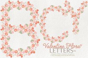 Valentine Flora 01 - Letters 04