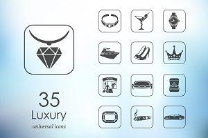 35 luxury icons