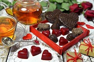 Valentine's Day still life 2