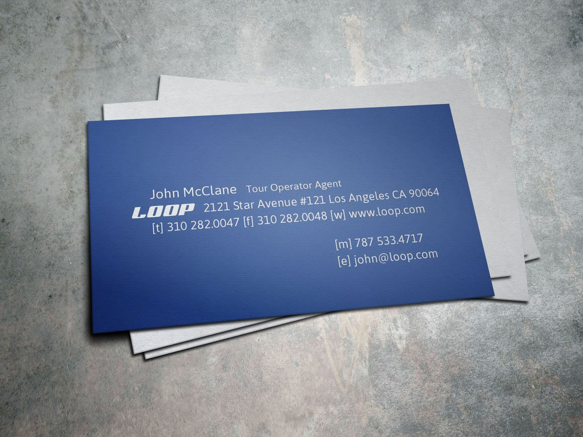 Loop travel tour business card business card templates loop travel tour business card business card templates creative market magicingreecefo Choice Image