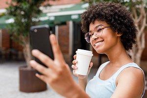 Social media influencer vlogging