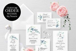 Wedding Invitation Set(Custom Order)