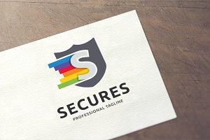Letter S - Secures Logo