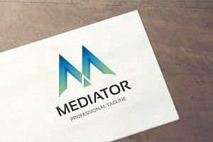 Letter M - Mediator Logo