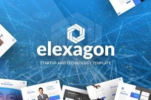 Elexagon PowerPoint Template